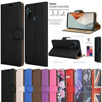 For OnePlus Nord N100 Wallet Case, Magnetic Flip Stand Slim Leather Phone Cover