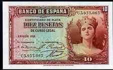 La Spagna. dieci PESETAS, C3, 937,063. 1935. FIOR.