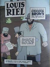 LOUIS RIEL - Chester Brown n°1 1999   [G.238]
