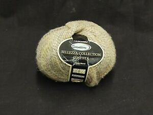 SENSATIONS COSETTA CREAM MULTI 3795 WOOL BLEND YARN 127.9 YARDS BELLEZZA COSETTA