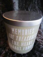 Victoria Meredith Memory Remembrance Grave Candle Vanilla Scent Memories New