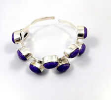 Bangle Cuff Jewelry Jc10597 Charoite .925 Silver Plated Handmade