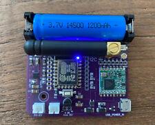fireFLY SET LoRa IoT Board ESP8266 + RFM95 SX1276 + Solar Charger + Akku LoRaWAN