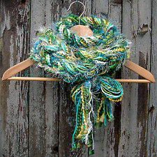 Braided Lariat Scarf - Color: Shamrock
