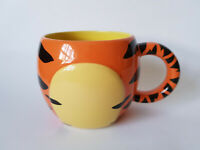 DISNEY STORE Tigger Mug Large Barrel Stripes Winnie The Pooh EXCELLENT CONDITION
