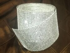 Cake Rhinestone Favor Party Supplies Wedding Roll Ribbon Decor Diamond Mesh Wrap