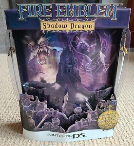 "Original 2009 Fire Emblem Shadow Dragon 19"" Tall Display Standee - Nintendo DS"