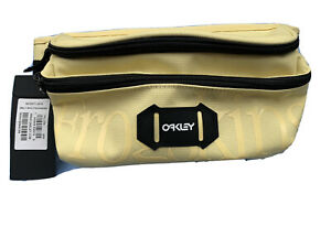 Genuine OAKLEY Belt Bag Bum Frogskins Yellow One size Brand New with Tags