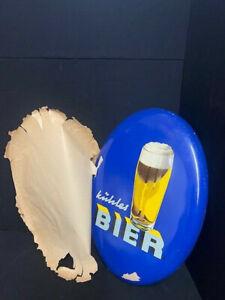 Cool Birra Targa di Latta - Germania Del 1955 Heinz Fehling 2