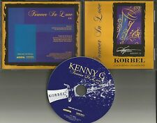 KENNY G  Forever in love Champagne RARE Limited PROMO DJ CD Single 2000 MINT USA