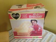 Boxed Pedigree Sindy Doll Arm Chair