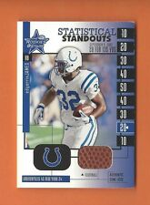 2001 ROOKIES AND STARS EDGERRIN JAMES GAME-USED BALL #SS-8 INDIANAPOLIS COLTS