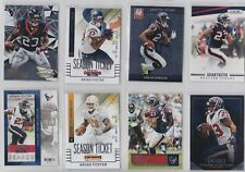 16 different Arian Foster cards!  Houston Texans!
