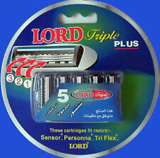 LORD Triple Plus Cartridges 10 Cards of 5 Cartridges
