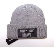 BRAND NEW MEN S DIESEL ONLY THE BRAVE WINTER BEANIE HAT CAP f703d1c15244