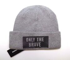 BRAND NEW MEN S DIESEL ONLY THE BRAVE WINTER BEANIE HAT CAP e7b4a70968aa