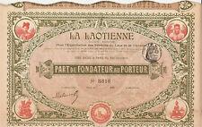 LA LAOTIENNE 1900