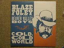 BLAZE FOLEY - COLD WORLD LP townes van zandt steve earle ray wylie hubbard RARE