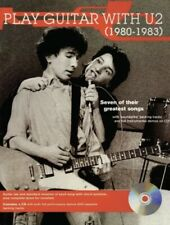 Play Guitar with U2 1980-1983 - Guitar Jams Series NEW 000695880