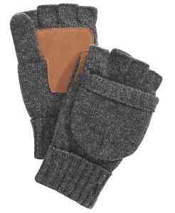 Polo Ralph Lauren Men's Gloves Pop Top Convertible Wool Gloves