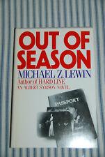 Albert Samson Mystery 6 - Out of Season by Michael Z. Lewin - 1984