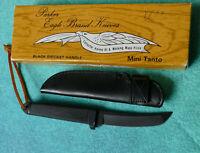 PARKER Cut Co Japan Black Mini Tanto Boot Knife NEW Eagle Brand Tactical Dagger