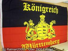 Fahnen Flagge Königreich Württemberg - 2 - 150 x 250 cm