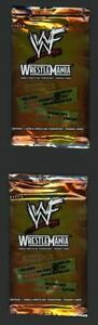 Lot of 2 2001 Fleer WWF WrestleMaina Wrestling FACTORY SEALED UNOPENED PACKS
