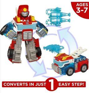 Transformers Rescue Bots Energize Heatwave the Fire Bot Playskool Heroes Figure