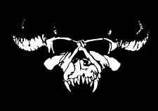 High Detail Danzig Skull Airbrush Stencil - Free UK Postage