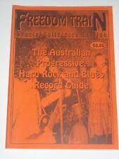FREEDOM TRAIN Vol 1 No 3 1996 Aussie Prog Hard Rock & Blues Record Guide