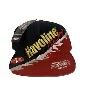 VTG Kenny Irwin Jr Havoline Racing Snapback Hat NASCAR NWT New Deadstock 1990s