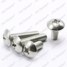 M3 M4 M5 M6 304 Stainless Steel Phillips Pan Cross Drive Truss Head Screw Bolts
