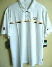 NFL Nike Green Bay Packers Sideline Team Performance Polo Shirt L Cj8412