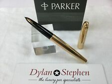Parker 61 consort series gold plated fountain pen