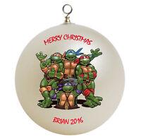 Personalized Teenage Mutant Ninja Turtles Ornament Gift