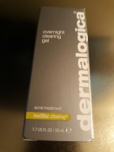 Dermalogica Overnight Clearing Gel  1.7  fluid ounces. New sealed exp10/2019