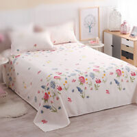 Cotton bed sheet active printing pure cotton bed cover 100% cotton super cozy