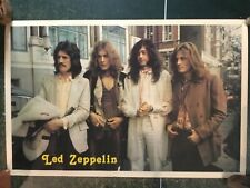 Vintage Early Led Zeppelin Poster, Rare, 22� x 34�-Very Good Condition!