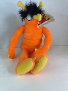 Vtg DAKIN Orange Mosquito OFF Insect Repellant Plush/Stuffed 1987 With Tags