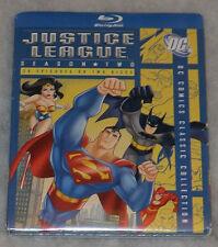 Justice League: Season Two 2 (Batman & Superman) - Blu-Ray Box Set NEW SEALED