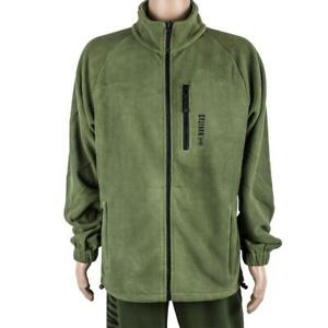 Navitas Atlas Fleece Jacket Green *All Sizes* NEW Carp Fishing Clothing