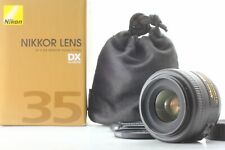 [Near Mint in Box] Nikon Nikkor AF-S DX 35 mm F1.8G w/case, cap from Japan #6918