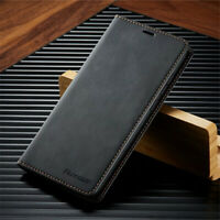 For Xiaomi Redmi Note 9 9S 8 Pro Leather Magnetic Flip Wallet Luxury Cover Case