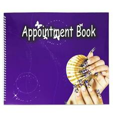 6 Columns Salon Beauty & Nails Schedule Planner Organizer Appointment Book