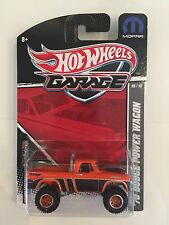 HOT WHEELS 2012 GARAGE 70 DODGE POWER WAGON REAL RIDERS 1/64 SCALE VHTF