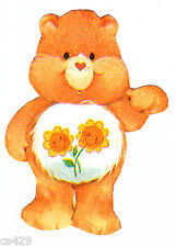 """4.5"""" Care bears friend bear rare vintage prepasted wall border cut out character"""