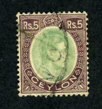 Ceylon, Scott #289, King George VI, Used, 1938