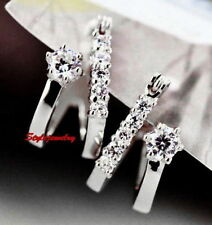 Unbranded Simulated White Gold Filled Fashion Earrings