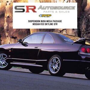 SR Autosource Superpro Full Skyline R33 GTR Suspension Bush Kit BCNR33 Bushes